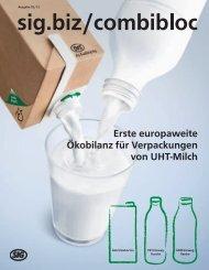 Erste europaweite Ökobilanz für Verpackungen ... - SIG Combibloc