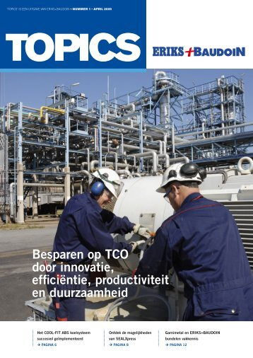 Besparen op TCO door innovatie, efficiëntie ... - Eriks+Baudoin