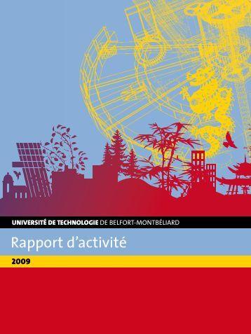 Rapport d'activité - Utbm