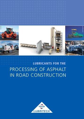 asphalt - FUCHS LUBRITECH GmbH