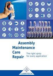 Assembly Maintenance Care Repair - FUCHS LUBRITECH GmbH