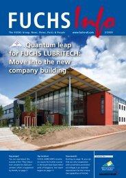 Quantum leap for FUCHS LUBRITECH: Move into the new company ...