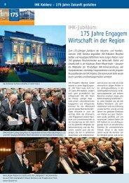 175 Jahre Engagem Wirtschaft in der Region - Halbtrocken