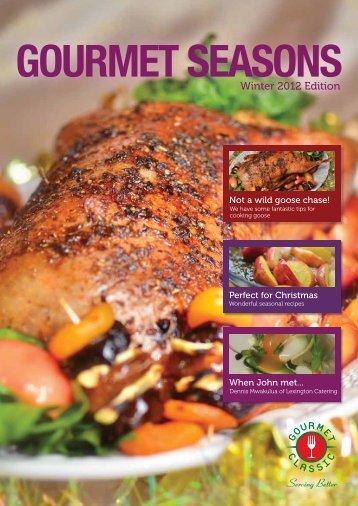 Winter 2012 Edition - Gourmet Classic