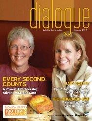 Summer 2012 - dialogue: Join the Conversation