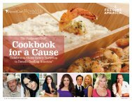 Cookbook for a Cause - Pampered Chef
