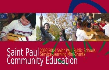 Saint Paul Community Education