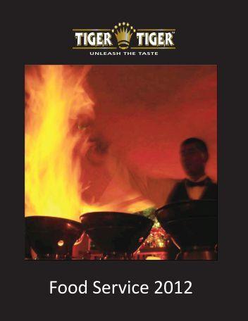 download the full food service brochure - Tiger Tiger