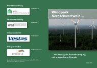 Flyer WP Nordschwarzwald - altus ag