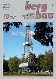 Zeitschrift für Rohstoffgewinnung, Energie, Umwelt - RDB eV