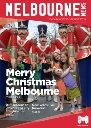 462 reasons to explore the city this summer New ... - City of Melbourne
