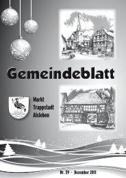 Gemeindeblatt Januar 2012 - Markt Trappstadt