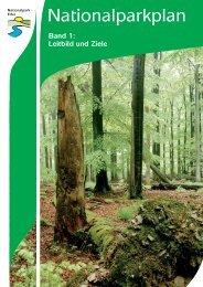Nationalparkplan, Band 1, Leitbild und Ziele - Nationalpark Eifel