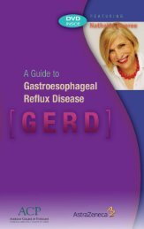 A Guide To Gastroesophageal Reflux Disease - American College ...