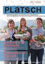 platsch 1/2011 - Solothurner Kajakfahrer