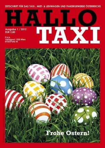 Hallo Taxi 1 2012 - bei Taxi 60160
