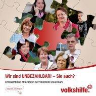 Wir sind UNBEZAHLBAR! – Sie auch? - Volkshilfe Steiermark