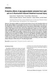 Glycoglycerolipids - The Journal of Medical Investigation