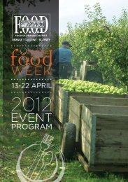 Program - Orange Food Week