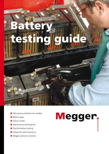 Battery testing guide - artec ingenieria sa