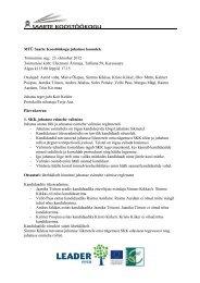 23.10.2012 koosoleku protokoll - Saarte Koostöökogu