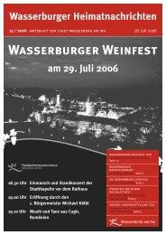 Wasserburger Weinfest - Wasserburg am Inn!