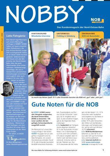 Gute Noten für die NOB - Veolia Transport