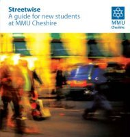 Download MMU Cheshire Streetwise Guide - Manchester ...