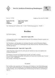Anordnungsbeschluss - Fuerstenzell.de