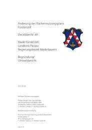 bpgk-en01-111216-begruendung_umweltbericht ... - Fuerstenzell.de