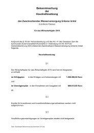 Bekanntmachung der Haushaltssatzung - Fuerstenzell.de