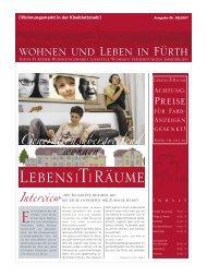 Beilage der StadtZeitung, Nr. 10, vom 23. Mai - Stadt Fürth