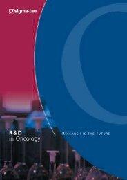 Brochure Oncol Def.qxd - sigma-Tau