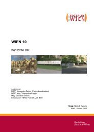 TF_Bericht Karl Wrba Hof - Fonds Soziales Wien