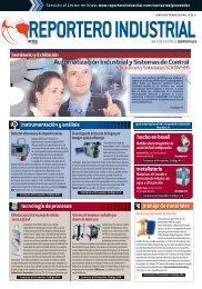 instrumentación y análisis manejo de materiales - Reportero Industrial
