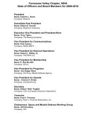 2011 NDIA ME SB Conf Attendees Final pdf