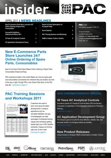 PAC Insider April 2011