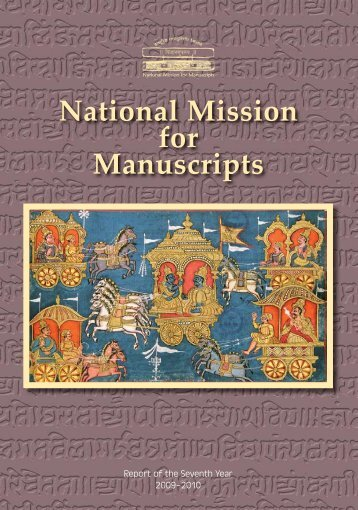 Seventh Annual Report - National Mission for Manuscripts