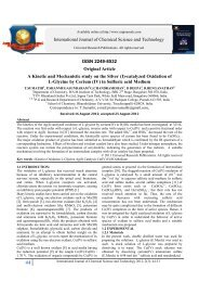 A Kinetic and Mechanistic study on the Silver - URP Journals