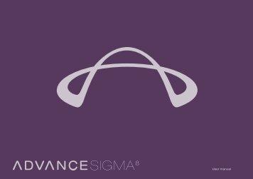 User manual SIGMA 8 - Advance