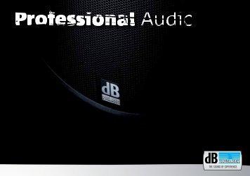 Download - dB TECHNOLOGIES