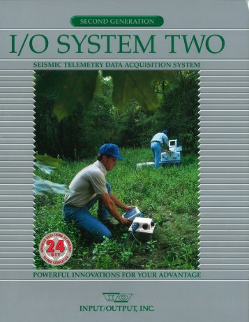System Two - Seismic Equipment Solutions