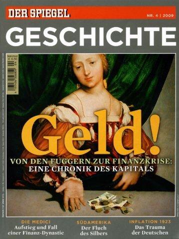 Spiegel Geschichte 04/2009 - Fuggerei