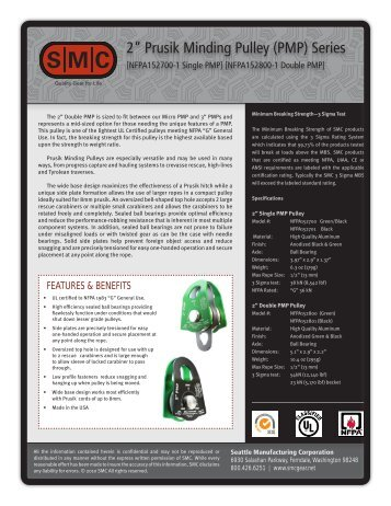 Product Data Sheet - Rescue Response Gear
