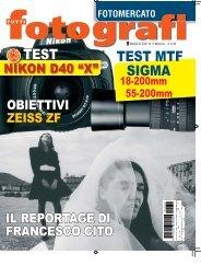 TEST MTF SIGMA TEST - fare fotografie... Beppe Bolchi