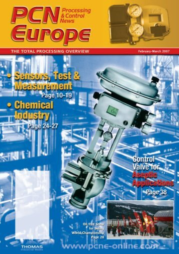 Sensors, Test & Measurement - Thomas Industrial Media