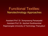 Functional Textiles