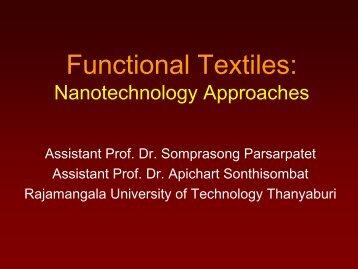 Functional Textiles
