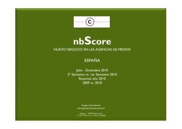 nbScore - Grupo Consultores