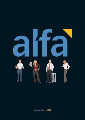 Informe Anual 2010 - Alfa